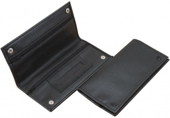 Feinschnittasche schwarz Soft-PU