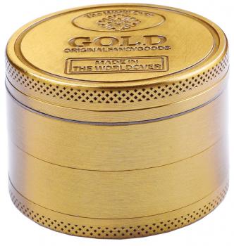Grinder Metall 4-teilig Gold