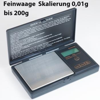 Feinwaage bis 200g Sk 0,01g