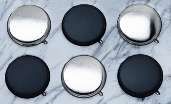 Taschenascher Black & Chrome VE 12