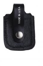 Zippo Ledertasche schwarz Lasche