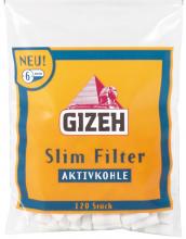 Gizeh Kohle Slimfilter 20 x 120er