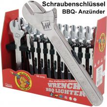 Design Anzünder Schraubenschüssel