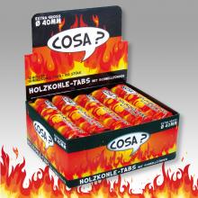 Wasserpfeifen Zündkohle COSA 40mm