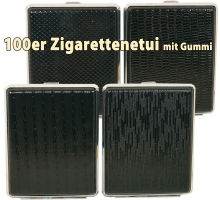 Zig Etui für 100er Classic Black Muster mit Gummi