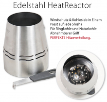 Shisha Kohle Heater Reactor