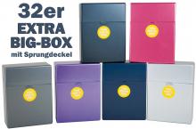 Zigaretten EXTRA 30er Big-Box metallic Push Up