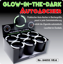 Ascher für Becherhalter Glow in the Dark