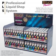 BELUGAflavour PLS Vitrine Professional Liquidshop System