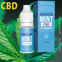 HARMONY Moroccan Mint eLiquid 300mg CBD