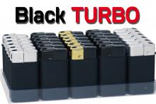 TURBO Feuerzeug BLACK LINE