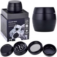 Luxusgrinder Aluminium 4-teilig 50mm Champ High BLACK