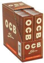 OCB UNBLEACHED Slim Zigarettenpapier