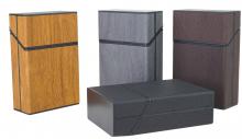 Zig Box Pop-Up Edle Woodstruktur 21er