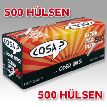 COSA? 500er Power Pack Hülsen