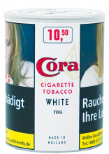 CORA Cigarette Tobacco White 70g