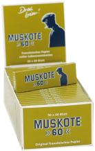 Muskote 60 Zigarettenpapier