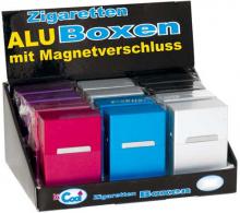 ALU Box mit Magnetverschluss farbig